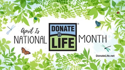 2021 National Donate Life Month, Garden of Life artwork