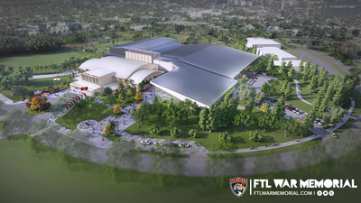 The revitalized Florida Panthers Fort Lauderdale War Memorial Auditorium will feature two regulation-sized indoor ice rinks including a dedicated public ice rink, state-of-the-art practice facility and South Florida's first-of-its-kind ballroom-style concert and performance venue. Photo Credit: ROSSETTI