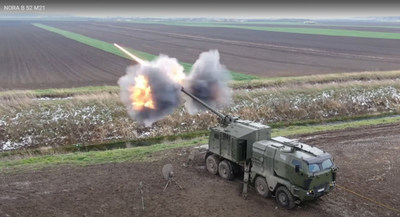 NORA B-52 M21 Performing Accuracy Test Firing in Serbia - April 2021