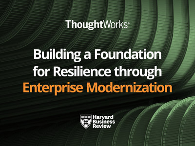 Harvard Business Review Analytic Services Find Enterprise Modernization Critical to Business Survival in New Report Sponsored by ThoughtWorks