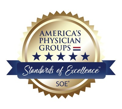 MemorialCare Medical Group & Greater Newport Physicians continue to receive top honors from many prestigious organizations, including America's Physician Groups Standard of Excellence Elite Status, Blue Shield Medicare Advantage 5 Star Program, SCAN Premier 5 Star Partner, Integrated Healthcare Excellence in Healthcare, as well as other national, statewide and regional awards. (PRNewsfoto/MemorialCare)
