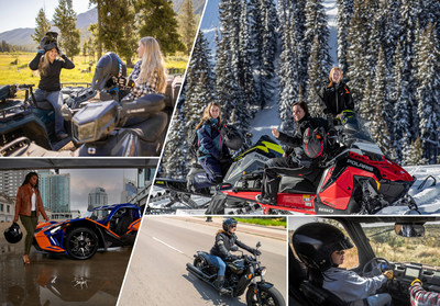 International Female Ride Day is joined by industry leader Polaris Inc.