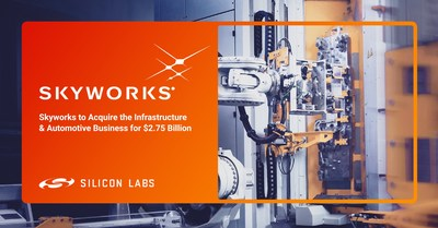 Silicon Labs Announces Agreement to Divest Infrastructure and Automotive Business