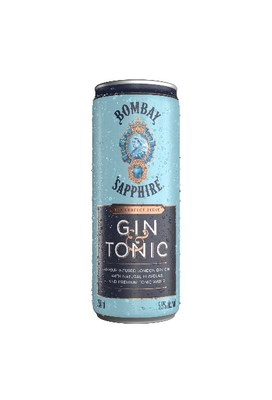 The World's Number One Premium Gin BOMBAY SAPPHIRE Launches Bar Quality Ready-To-Drink Gin & Tonic