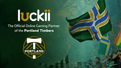 The Portland Timbers and Major League Soccer today announced that Luckii.com is the team's official online gaming partner, with plans to collaborate on in-game and on-field sponsorships, online promotions, charitable efforts and IP rights, including a soon-to-be-released Timbers-themed game.
