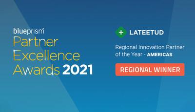 Regional Innovational Partner of the Year 2021 - AMERICAS