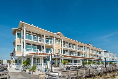 The 112-key Ocean Suites Bethany Beach, Residence Inn is one of the leading hotels in the Delaware beaches, located directly on the Bethany Beach boardwalk.