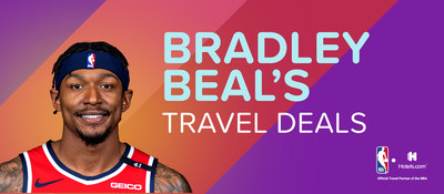"""Hotels.com and Bradley Beal reward fans and travelers with """"Beal's Travel Deals""""."""