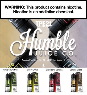 Humble will be located at booth No. 6072 at the 2021 TPE International trade show, May 12-14, in Las Vegas, Nevada.