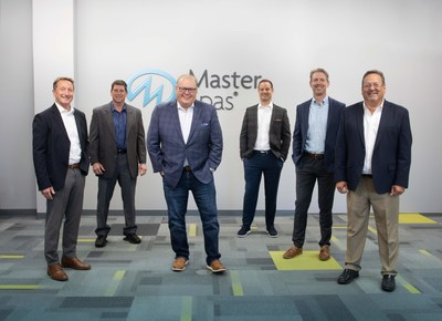 Master Spas executives, left to right, Terry Valmassoi, Co-Founder and President; Mike Reese, Vice President of Manufacturing, Bob Lauter, CEO and Co-Founder; Nathan Coehlo, Vice President of Engineering; Kevin Richards, Vice President of Marketing and Sales; Sam Badiac, Executive Vice President