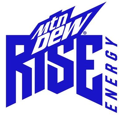 MTN DEW RISE ENERGY Logo (PRNewsfoto/PepsiCo)