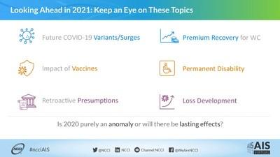 NCCI - Looking Ahead in 2021 - #ncciAIS