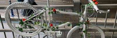 Ghost Bike (CNW Group/Musée de la civilisation)