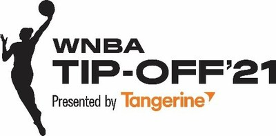 WNBA Tip-Off'21 Presented by Tangerine (CNW Group/Tangerine)