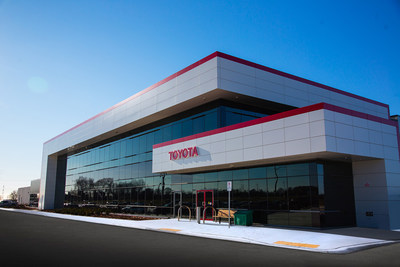 Toyota Eastern Canada Parts Distribution Centre in Clarington, Ontario. (CNW Group/Toyota Canada Inc.)