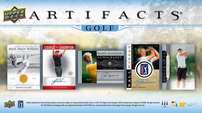 Upper Deck announced today the long-awaited launch of its first golf card set in more than seven years, Artifacts® Golf.