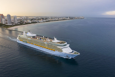 Freedom of the Seas set sail from its new home of Miami on July 2 as Royal Caribbean International's first ship to cruise from the U.S. in nearly 16 months. The ship begins a summer series of short 3-night weekend and 4-night weekday cruises to top-rated private island destination Perfect Day at CocoCay and Nassau, The Bahamas.